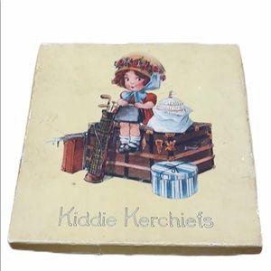 COPY - Antique original box Kiddie Kerchiefs